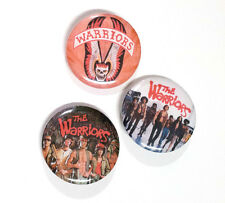 Lot of 3 - The Warriors (80's Gang Movie) - 1.25in Pins Buttons Badges