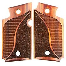 SIG SAUER - P 938 P938 - COCOBOLO CHECKERED WOOD STIPPLED GRIPS / GRIP SET