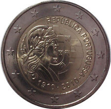 Portugal 2010 - 2 Euro Commemorative - 100yrs as a Republic 1910-2010 (UNC)
