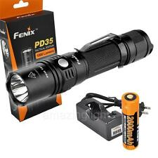 Fenix 2015 PD35TAC 1000 Lumens Tactical Flashlight  XP-L LED Rechargeable Set