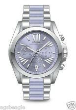 Michael Kors Watch MK6331 Bradshaw Silver Tone Acetate Watch Agsbeagle