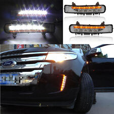 2pcs LED Driving Daytime Running Light Day Fog Lamp for Ford EDGE 2011-2014