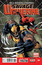 "SAVAGE WOLVERINE (2013) #'s 6, 7, 8, 9, 10, 11 COMPLETE ""HANDS ON A DEAD BODY"""