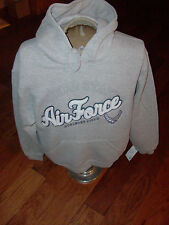 U.S.A.F. AIR FORCE GRAY OXFORD SWEATSHIRT HOODIE HURLBURT FIELD