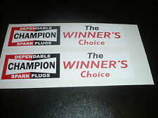Champion The Winners Choice Stickers