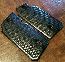 Walnut Wood Grips w/ Classic Checkering, Stained Black-Will fit Sig Sauer P238