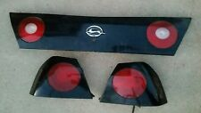 2000 2005 Chevy IMPALA SS TAIL LIGHT COMPLETE PANEL SET TAILLIGHT Black