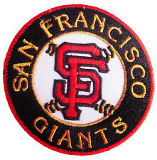 MLB San Francisco Giants Logo SF Baseball embroidered iron on patch. (i14)
