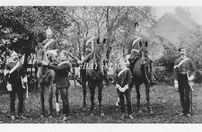 PHOTO GROUP OF HERTFORDSHIRE YEOMANRY