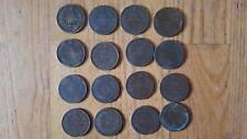 lot de 16 pièce monnaie bronze 19e Italie France divers 10 centime centesimi (8)
