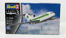 Revell Boeing 727-100 Germania New Plastic Model Airplane Kit 03946 1/144