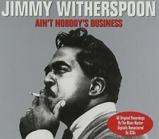 Jimmy Witherspoon Ain't Nobody's Business 2-CD NEW SEALED Remastered Blues