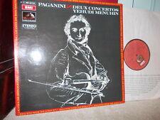 """PAGANINI: Violin Concertos n°1 & n°2 """"la campanella""""   Menuhin Erede /EMI stereo"""
