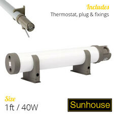 1 Ft / 40W Sunhouse Tubular Heater - Electric Tube Heating