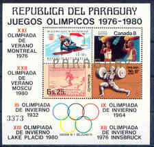 Olympiade 1980, Olympic Games - Paraguay - Bl.316 ** MNH