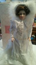 Beautiful Maryse Nicole Bride Doll in original box 22 inches