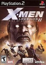 X-Men Legends II: Rise of Apocalypse (Sony PlayStation 2, 2005)