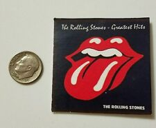 Miniature record albums Barbie Gi Joe 1/6  Figure  Playscale  Rolling Stones
