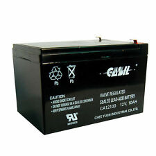 12V 10AH Universal Multipurpose Rechargeable Sealed Lead Acid Battery with F2