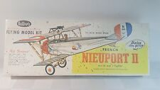 French Nieuport II WWI balsa fighter plane kit Guillows