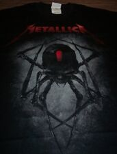 METALLICA BLACK WIDOW SPIDER T-Shirt LARGE NEW Band Magnetic Metal