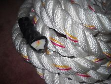 "30 FT Polydacron WORKOUT Rope 1 1/4""   Diameter GYM Exercise"