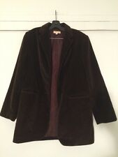 Vintage Brooks Brothers Brown Corduroy Blazer Jacket Made in the USA Sz 6