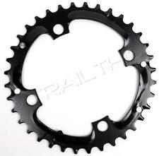 SRAM / Truvativ TruShift  36T x 104mm STEEL 9-speed MTB Bike Chainring Black