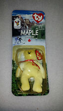 TY Beanie Babies MAPLE The Bear Canada