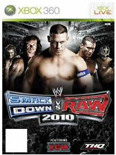 WWE SmackDown vs. Raw 2010 (Microsoft Xbox 360, 2009)