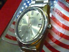 Seiko Sea Lion 17j 6602-7020 Mech Wind 34mm  Diashock 60's Vintage