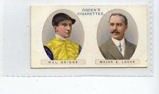 (Jc8669-100)  OGDENS,OWNERS RACING COLOURS,GRIGGS / MAJOR E.LODER,1914,#6