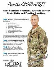 Pass the ASVAB AFQT! Armed Services Vocational Aptitude Battery Study Guide...
