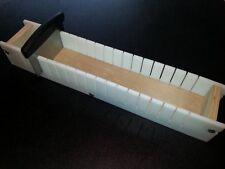 Adjustable SOAP BAR SLICER CUTTER, 5 Lb Cold Process Loaf Mold Wooden Wood