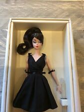 Silkstone Classic Black Dress Brunette Barbie NRFB Fashion Model Collection