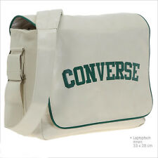 Converse Flap Messenger Heritage PU Bag (White)