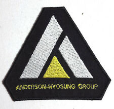 "Expanse TV Series Anderson-Hyosung Group Logo 3"" Triangle Patch (EXPA-06)"