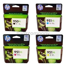 4 HP 950 HP 951 ORIGINAL DRUCKER PATRONEN TINTE OFFICEJET 8100 8600 8610 251DW