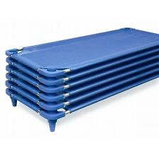 6 NEW DAYCARE ECONOMY CHILDCARE NAP COTS STACKING COTS 03225