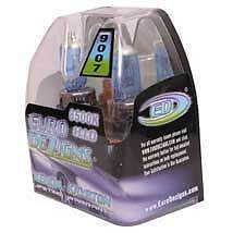 EuroDezigns Cool Blue 9007 Bi Xenon HID Look HIGH/LOW Beam Headlight Bulb 55/65w