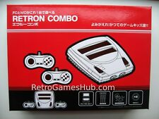 Retro Nintendo NES/FC & Sega Genesis Duo Console-Plays FC and Genesis Cartridges