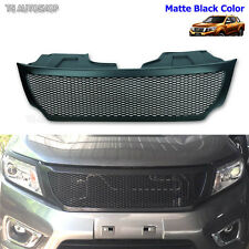 Black Net Front Grill Grille Fit Nissan Frontier Navara D23 Np300 2015 2016