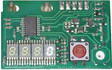 """Counter white 0,2"""" Zähler Z77 weiß 5,08mm Revox A77 mit Nullunterdrückung 5,1 mm"""