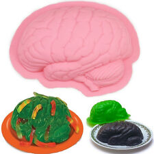 Halloween Zombie Brain Jelly Ice Tray Mold Maker Soap Chocolate Baking Mould