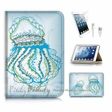 iPad Mini Gen 1 2 3 Flip Wallet Case Cover P3158 Art Jelly Fish