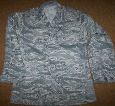 ABU SHIRT, AIR FORCE ABU DIGITAL TIGER CAMO, SIZE 40 LONG, U.S. ISSUE *NEW*