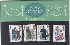 GB Presentation Pack No. 75 Jane Austen 1975 MNH 10% off for any 5+
