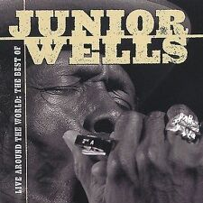 Live Around the World: The Best of Junior Wells by Junior Wells (CD,...