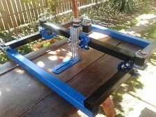DIY PORTABLE PLASMA ROUTER CNC RAILS PLANS