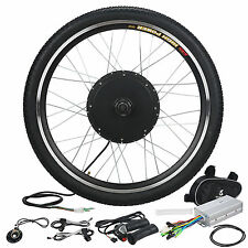 "26"" Electric Bicycle Front Wheel Conversion Kit New 48V 1000W E-Bike Motor Hub"